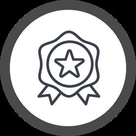 icon award ribbon