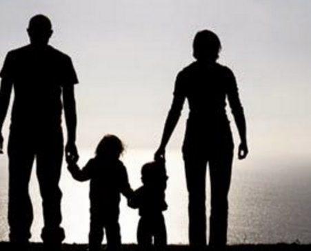 men taking kids to daycare